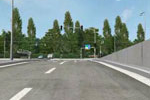 vizulizace stavby křižovatka U Vorlíků
